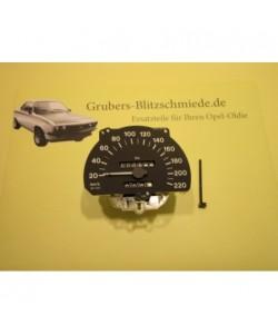 Tachometer KM/H W1111 Astra F