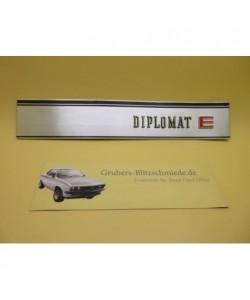 Blende Rückwand Diplomat B
