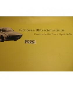 Schrift Vordertür RS...