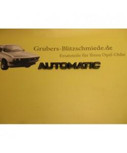 Schriftzug Automatik Ascona B