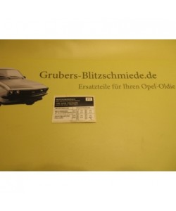 Aufkleber Reifendruck C18XL...